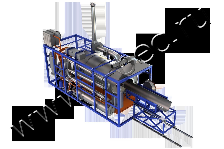 Batch Thermal Decomposition Plant (TDP-1)