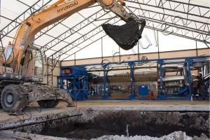 Oil sludge treatment plant for Gazprom Neft-Noyabrskneftegaz