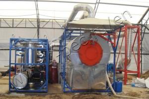 Oil sludge processing at TDP-1