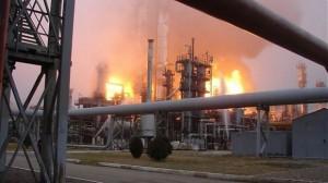 Pyrolysis explosions