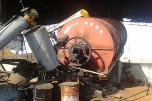 Pyrolysis plant disasters