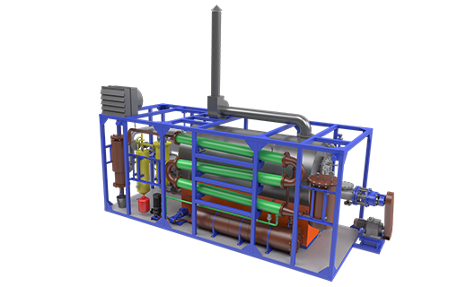 Continuous Thermal Decomposition Plant (TDP-2-200)