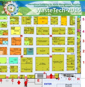 WasteTech-2015 floor layout