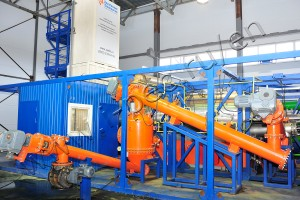 Tire processing machine TDP
