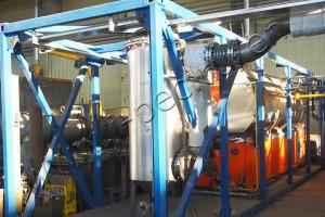 Thermal sludge drying equipment TDP-2-800