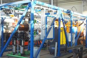 Sludge drying unit TDP-2-800