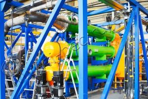 Drilling waste pyrolysis plant