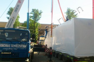 UTD-2-800 was shipped to the customer premises in Smolensk region