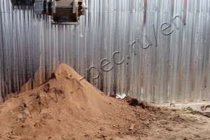 The derived product after processing is subsoil