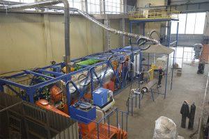 Pyrolysis plant TDP