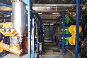 Continuous pyrolysis reactor TDP-2-2000