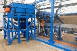 Oil sludge pyrolysis plant for Gazprom Neft-Noyabrskneftegaz