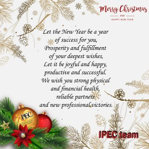 Happy New Year and Merry Christmas 2019!
