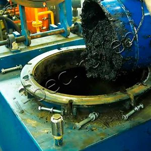 Sludge Feeding for Drying at TDP-2