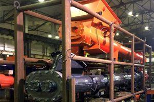 Drilling waste loading system for TDP-2-800