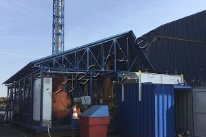 E-waste treatment plant