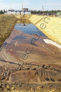 Oil sludge pit reclamation