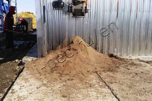 Technical soil - product of drilling waste processing