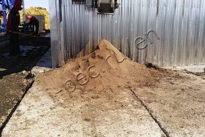 Technical soil for construction purposes