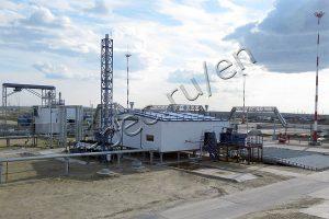 Oil sludge processing in TDP-2