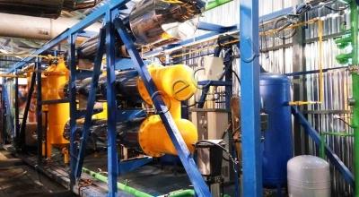 Continuous pyrolysis plant TDP-2-800