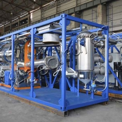 Continuous pyrolysis plant TDP-2-800