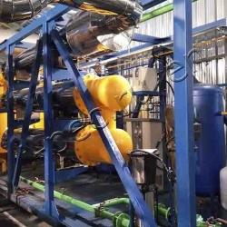 Drilling waste pyrolysis plant TDP-2-2000
