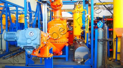 Oil sludge processing plant TDP-2-200