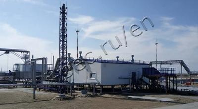 Oil sludge processing unit TDP-2-800