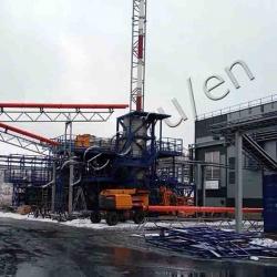 Oily waste pyrolysis plant TDP-2-2000