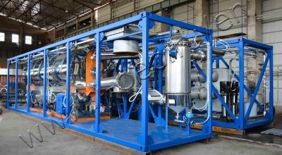 Oil sludge processing plant for Gazprom Neft-Noyabrskneftegaz