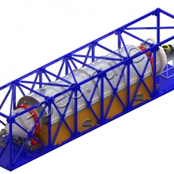 Plastic waste recycling plant TDP-2-1000R