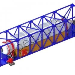 Plastic pyrolysis plant TDP-2-1000R