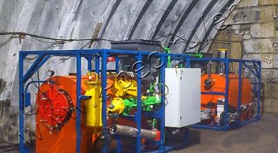 Waste pyrolysis plant TDP-1
