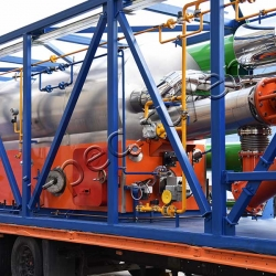 Oil sludge pyrolysis plant TDP-2-200