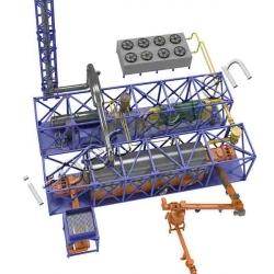 Pyrolysis plant TDP-2-2000