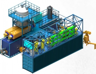 Continuous Thermal Decomposition Plant (TDP-2-3000)