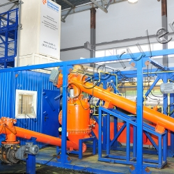 TIre pyrolysis plant TDP-2-800