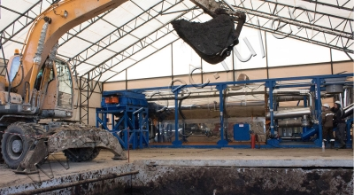 Oil sludge treatment plant for Gazprom Neft-Noyabrskneftegaz