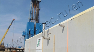Pyrolysis plant TDP-1 at GAZPROM Burenie LLC