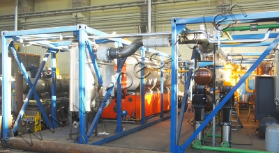 Sludge drying system TDP-2-800