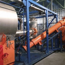 Waste pyrolysis unit TDP-2-800