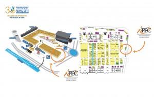 ADIPEC 2014 Схема Экспоцентра