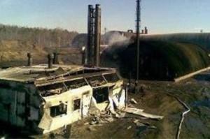 Взрыв пиролизного газа в Ханты-Мансийском автономном округе