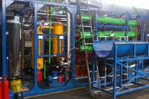 Пиролизная установка УТД-1 для утилизации покрышек