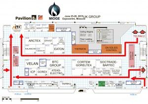 План выставки Нефть и Газ 2015