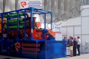 Пиролизная установка УТД-2-200 на выставке «Нефть и Газ-2015»