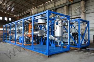 Установка термической деструкции для переработки отходов резины