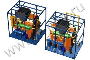Оборудование для переработки отходов с получением чистого моторного топлива