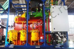 Оборудования для пиролиза отходов с получением моторных топлив